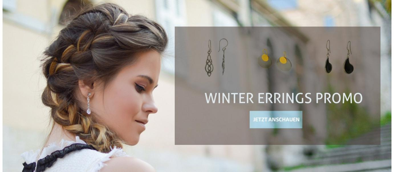 Winter Earrings Promo